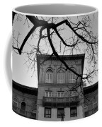 Beverly Wilshire Hotel - Beverly Hills - Black And White Coffee Mug