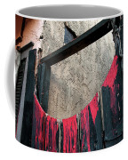 Beware All Who Enter Here - Halloween Gate Coffee Mug