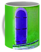 Beyond The Blue Door Coffee Mug