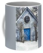 Beyond The Blue Door Pencil Coffee Mug