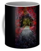 Beyond The Red Leaves Coffee Mug