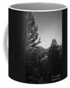 Beyond The Trees Bw Coffee Mug