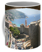 Beyond The Walls Of Old Dubrovnik Coffee Mug