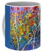 Beyond The Woods - Orange Coffee Mug