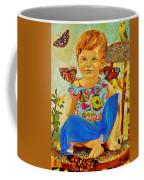 Bianka And Butterflies Coffee Mug
