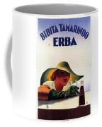 Bibita Tamarindo - Erba - Vintage Drink Advertising Poster Coffee Mug