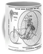 Bicycle, 1884 Coffee Mug
