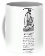 Bicycle Ad, 1885 Coffee Mug