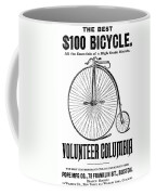 Bicycle Advertisement, 1888 Coffee Mug