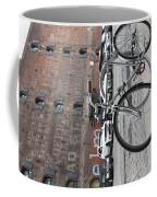 Bicycle And Building Coffee Mug