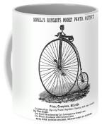 Bicycle Camera Ad, 1887 Coffee Mug by Granger