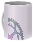 Bicycle Chain Ring On Lavender Water - 2 Of 4 Coffee Mug