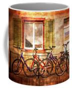 Bicycle Line-up Coffee Mug
