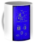 Bicycle Patent Drawing 4b Coffee Mug