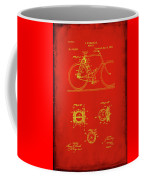 Bicycle Patent Drawing 4c Coffee Mug