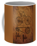 Bicycle Patent From 1890 Coffee Mug