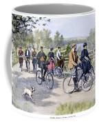 Bicycle Tourists, 1896 Coffee Mug by Granger