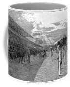 Bicycle Tournament, 1886 Coffee Mug by Granger