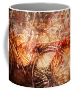 Bicycles In Amsterdam Coffee Mug by Richard Anderson