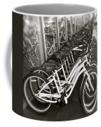 Bicycles In Belmont Shore Coffee Mug