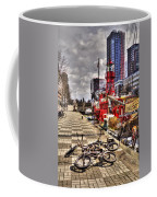 Bicycles In Rotterdam, Netherlands Coffee Mug