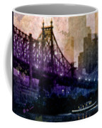 Big Apple Shadows Coffee Mug