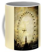Big Ben In The London Eye Coffee Mug