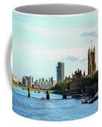 Big Ben, Parliament And River Thames Coffee Mug