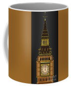 Big Ben Striking Midnight Coffee Mug