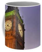 Big Ben Twilight In London Coffee Mug