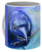 Big Blue Bird Coffee Mug