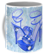 Big Blue Bling  Coffee Mug