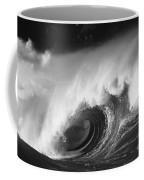 Big Breaking Wave - Bw Coffee Mug