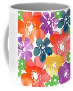Big Bright Flowers Coffee Mug