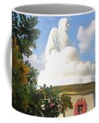 Big Buddha Statue At The Long Son Pagoda In Nha Trang Vietnam Coffee Mug