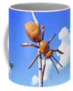 Big Bug Sculpture 1 Coffee Mug