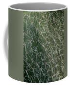 Big Cactus Pins. Close-up Coffee Mug