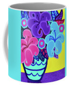 Big Colorful Lillies Coffee Mug