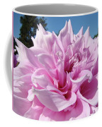 Big Dinner Plate Dahlia Flower Garden Floral Baslee Troutman Coffee Mug