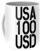 Big Money 100 Usd Coffee Mug