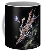 Big, Old Space Shuttle Of Dead Civilization Coffee Mug