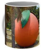 Big Orange At Melbourne On The East Coast Of Florida Coffee Mug