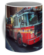 Big Red Engine 24 - Fdny - Firefighters Of New York Coffee Mug