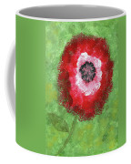 Big Red Flower Coffee Mug