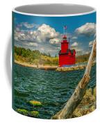 Big Red Lighthouse In Michigan Coffee Mug