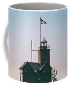 Big Red Lighthouse Coffee Mug