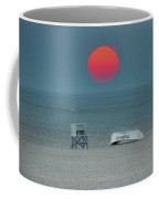 Big Red Sun - Atlantic City Coffee Mug
