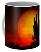Big Saguaro Sunset Coffee Mug