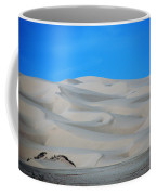 Big Sand Dunes In Ca Coffee Mug