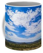 Big Sky In Pecos Valley Coffee Mug
